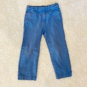 J.crew Blue Chino Pants Size 4 Adjustable